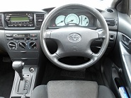 White Corolla Dash